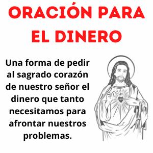 Oración para dinero