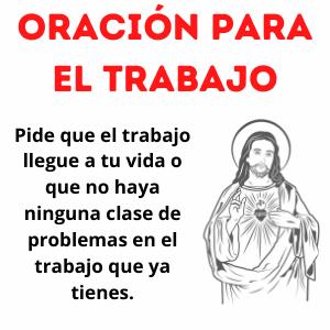 Oración para el trabajo