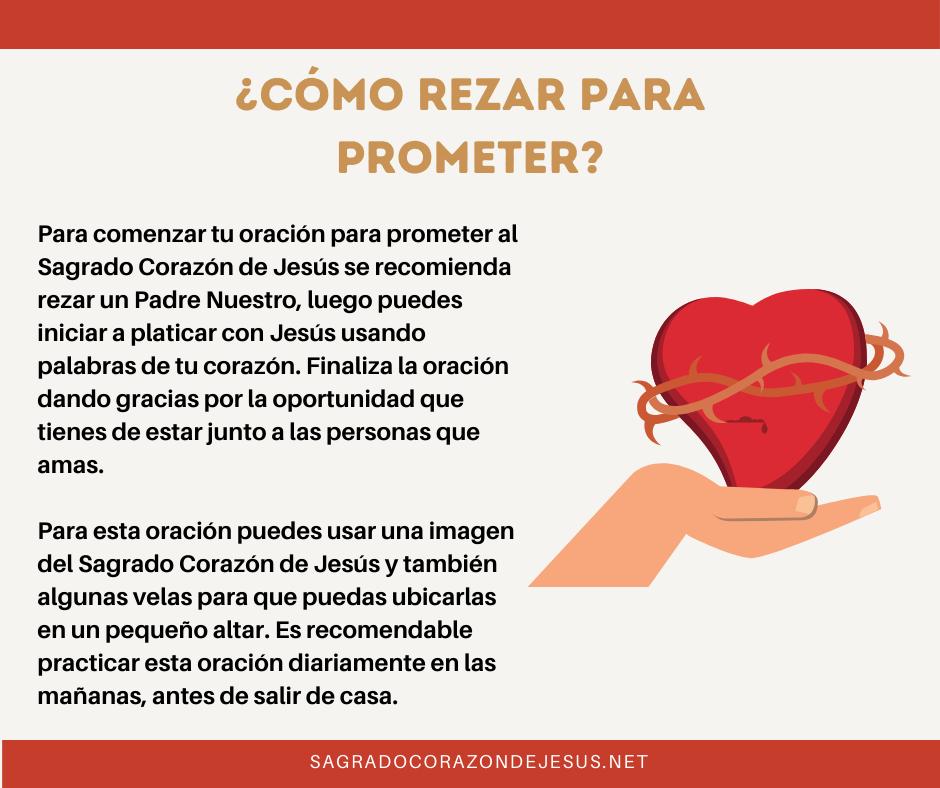 cómo rezar la oración para prometer