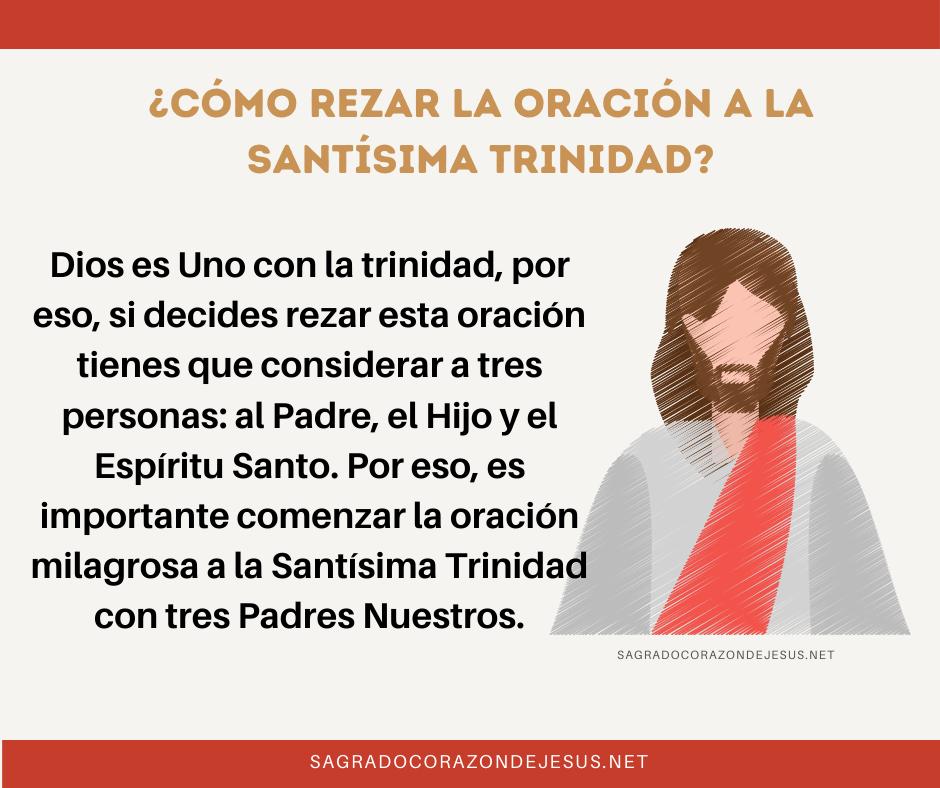 como rezar a la santísima trinidad