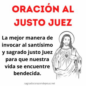 Oración al Justo Juez