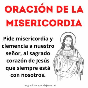 Oración de la misericordia