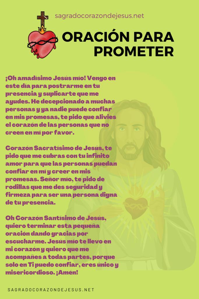 oración para prometer