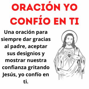 Oración yo confío en ti