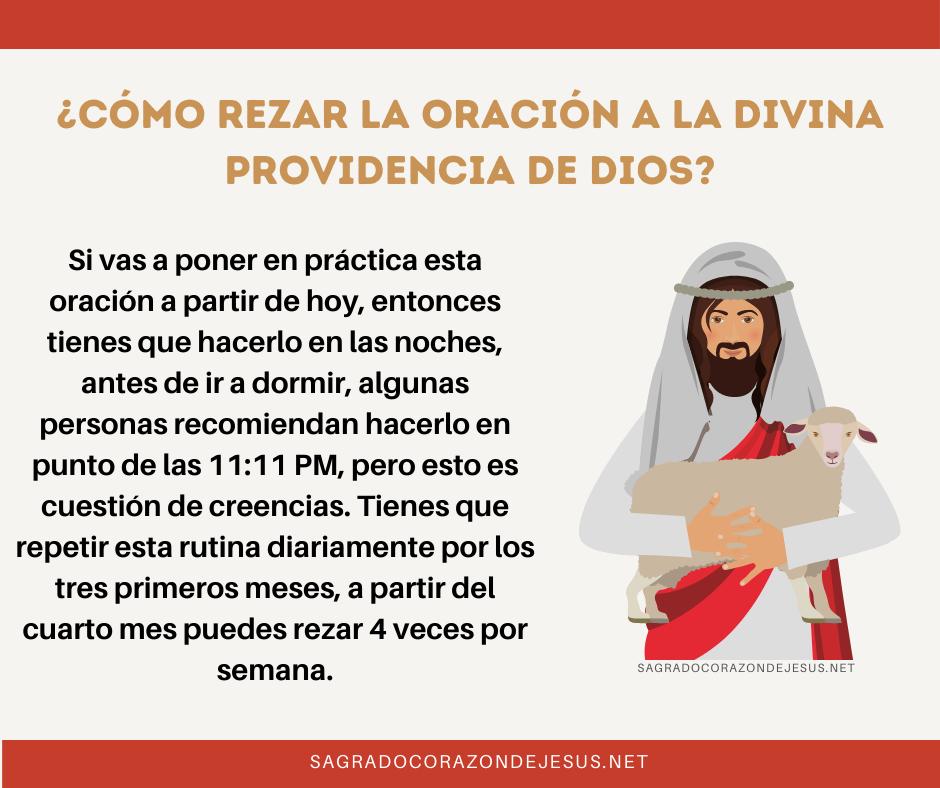 rezar a la divina providencia