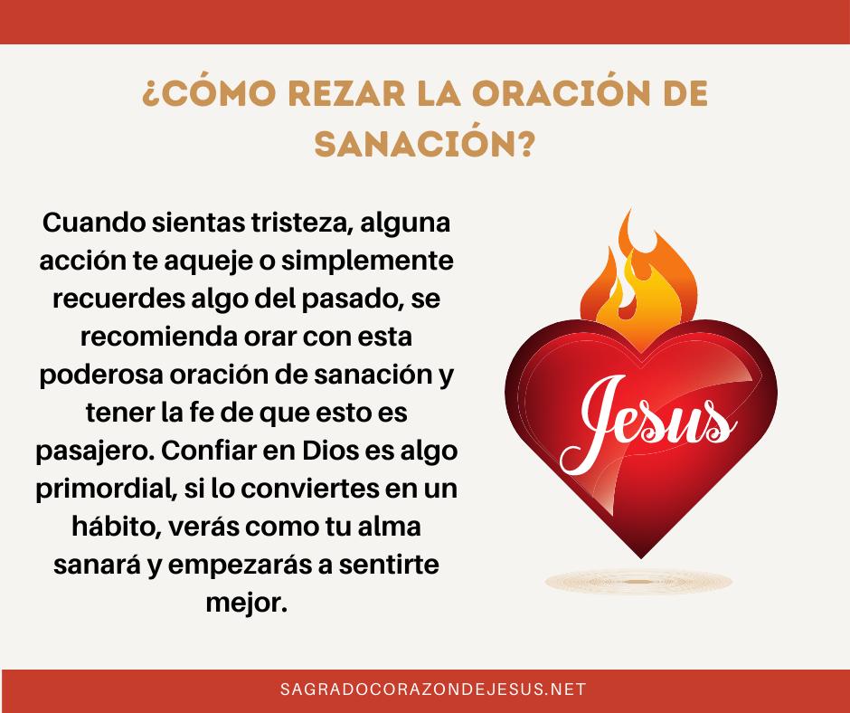 rezar sagrado corazón para sanación