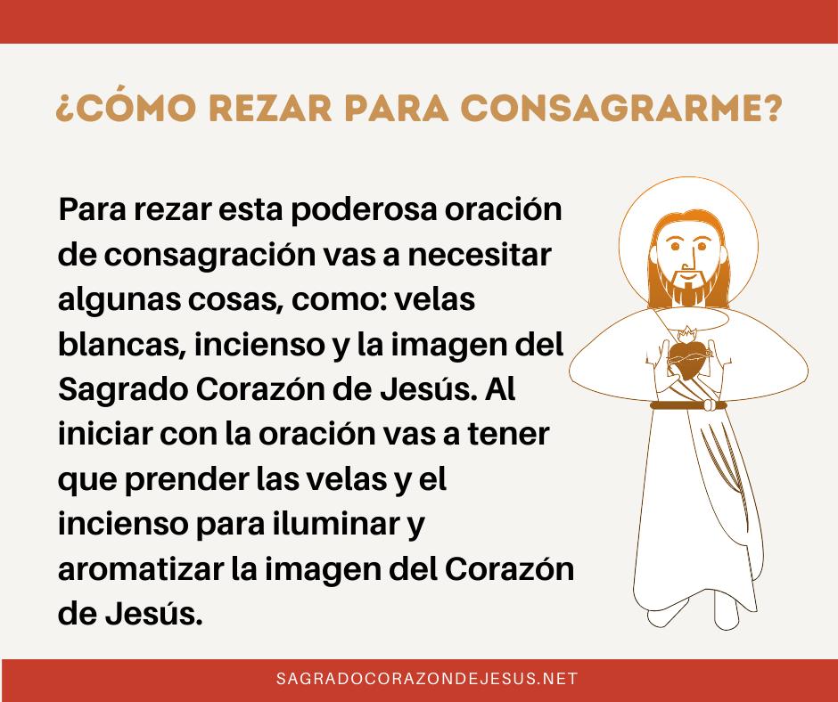 rezar la oración de consagración