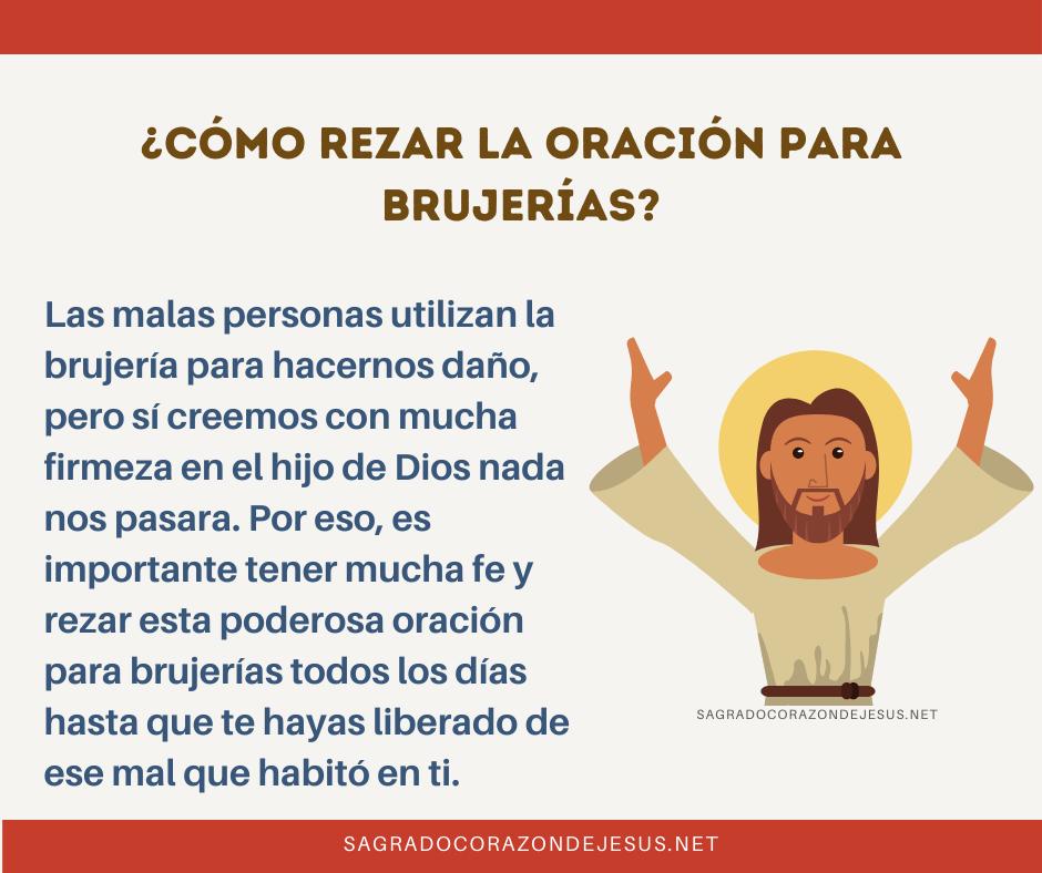 Cómo rezar la oración para brujerías al Sagrado Corazón de Jesús